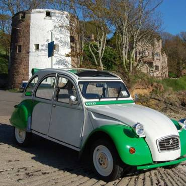 Location 2CV, Le Riche